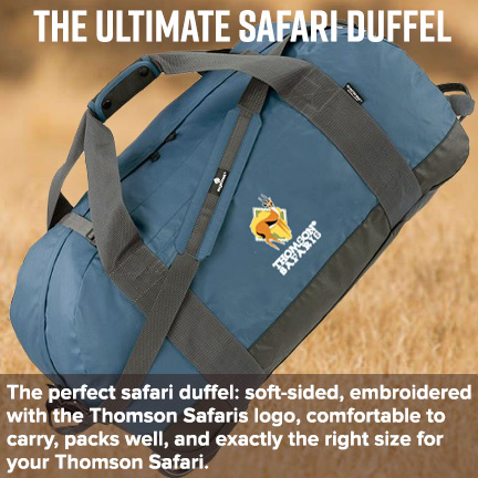 The Ultimate Safari Duffel